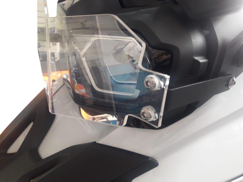 Protetor de Farol Criativa Acessórios Modelo Acrílico - F 750 / 850 GS 2018 até 2020 - BMW