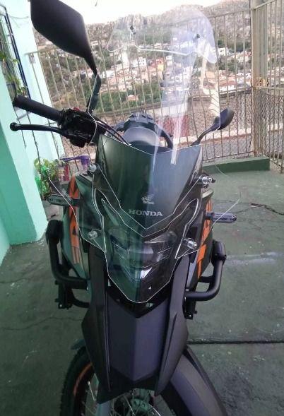 Protetor de Farol Criativa Acessórios Modelo Acrílico - XRE 300 ano 2019 em Diante - Honda