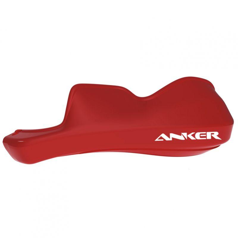 Protetor de Mão Anker Modelo Adventure - Guidão 28.5/Ø31.5mm x Fixador 13,5mm