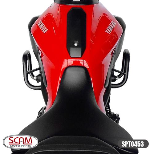 Protetor de Motor / Carenagem Scam Modelo Novo Com Pedaleira - MT-07 ano 2015 em Diante - Yamaha