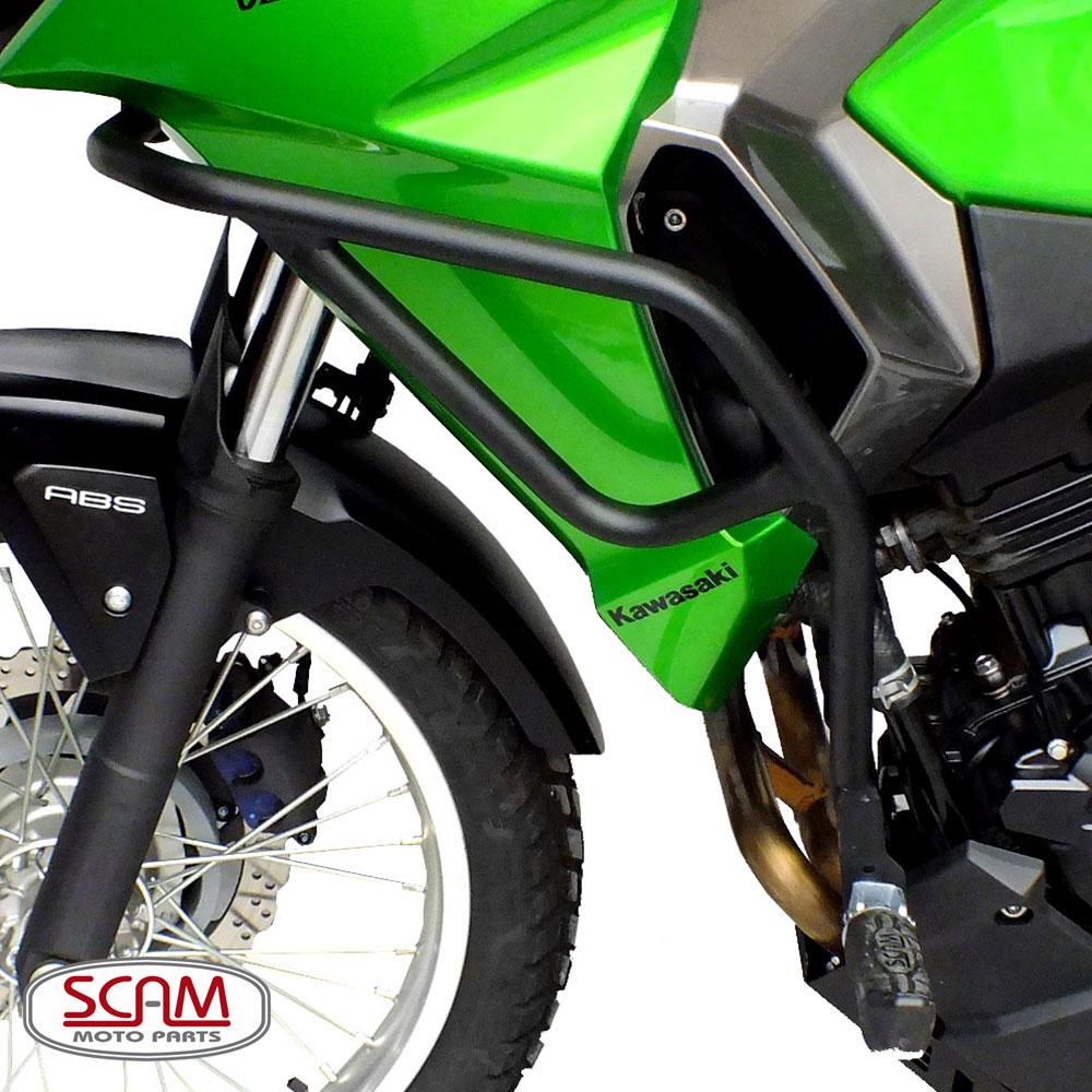 Protetor de Motor / Carenagem Scam Com Pedaleira - Versys 300 - Kawasaki
