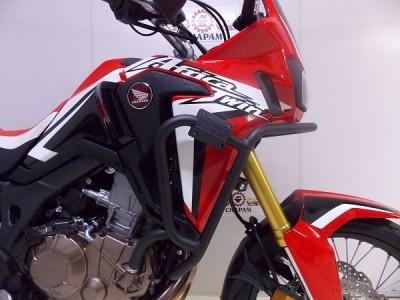 Protetor de Motor e Carenagem Chapam Preto - Africa Twin CRF 1000 L - Honda