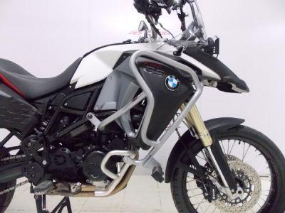 Protetor de Motor e Carenagem Chapam Prata Com Pedaleiras - F 800 GS Adventure - BMW