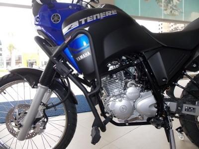 Protetor de Motor e Carenagem Chapam Preto com Pedaleira - Tenere 250 - Yamaha