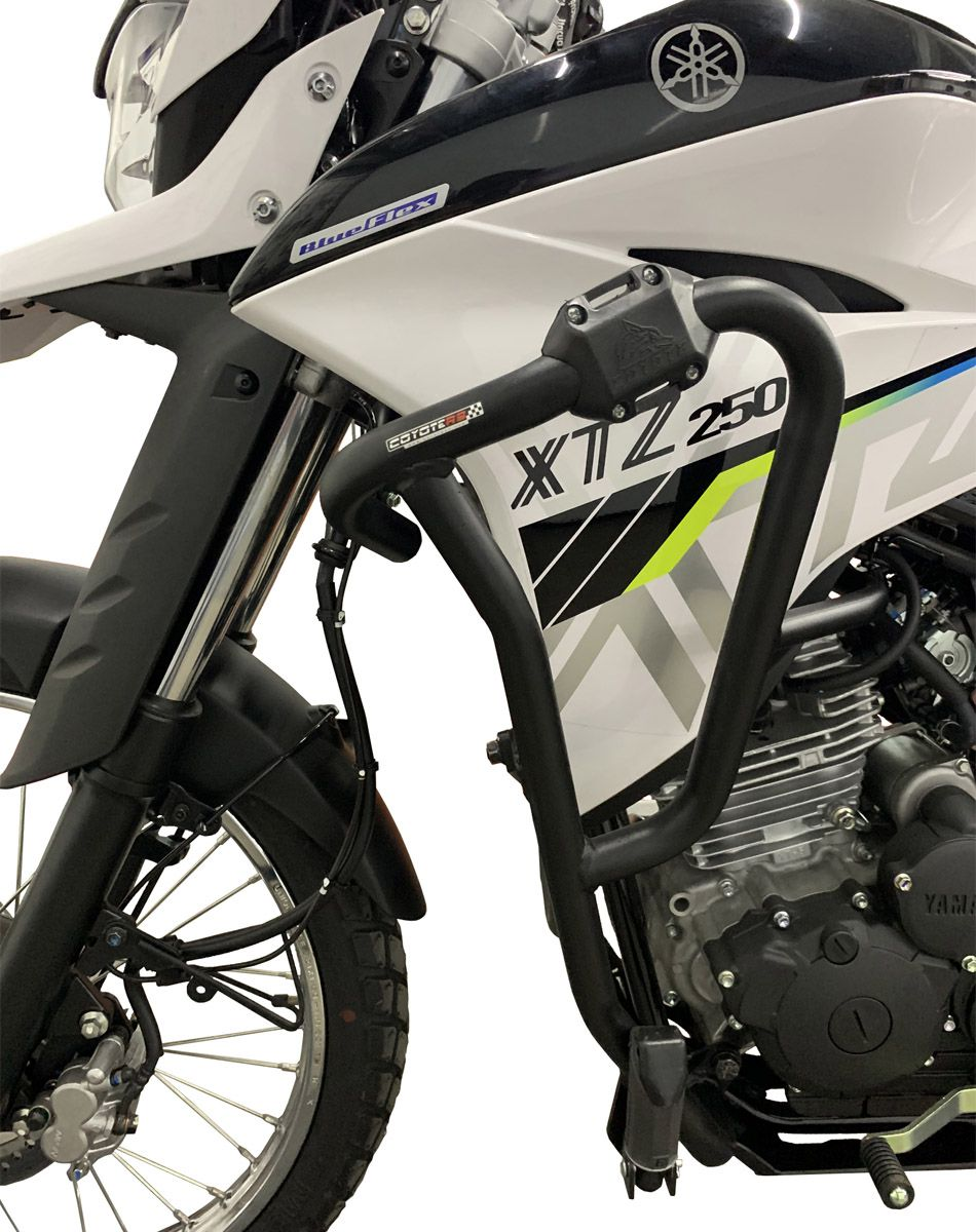 Protetor de Motor e Carenagem Coyote + Bolsas em Nylon (PAR) - Lander ABS 250 ano 2019 em Diante - Yamaha