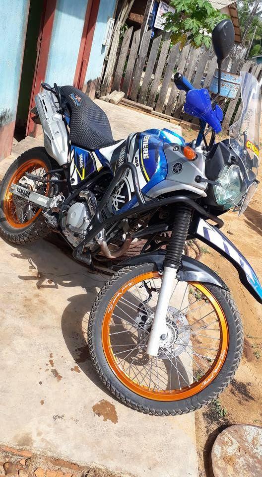 Protetor de Motor e Carenagem Coyote Preto com Pedais - Tenere 250 Todos os Anos - Yamaha