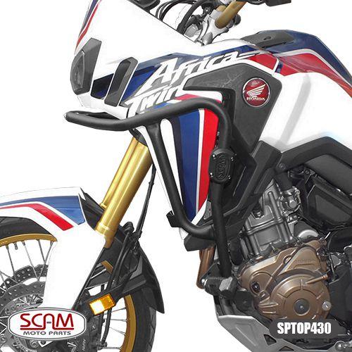 Protetor de Motor / Carenagem Scam Com Pedaleira - Africa Twin 1000 - Honda