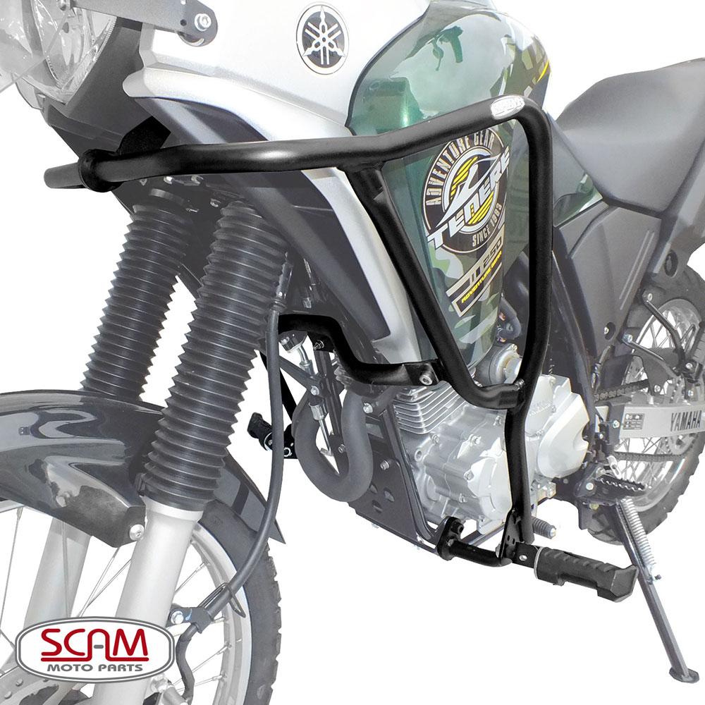 Protetor de Motor / Carenagem Scam Com Pedaleira - Tenere 250 - Yamaha