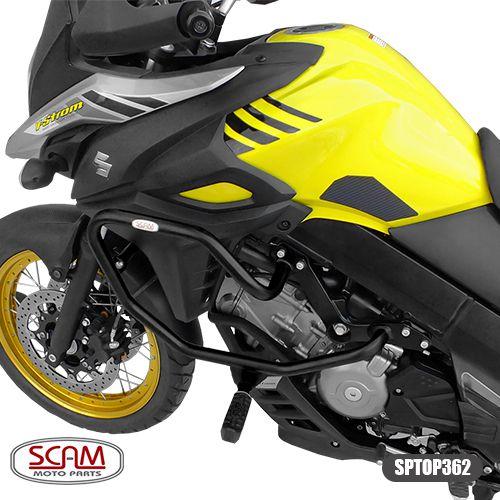 Protetor de Motor / Carenagem Scam Com Pedaleira - V-Strom DL 650 ano 2014 em Diante - Suzuki