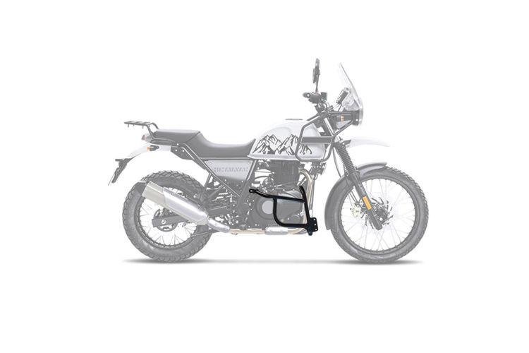 Protetor de Motor Livi Preto Fosco - Himalayan - Royal Enfield