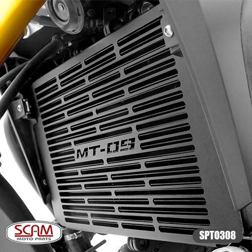 Protetor de Radiador Scam Preto - Tracer 900 GT ano 2020 em Diante - Yamaha