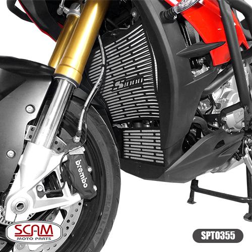 Protetor de Radiador Scam Preto - S 1000 XR - BMW