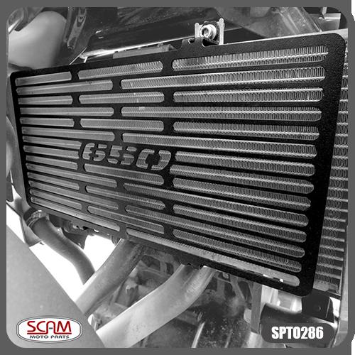 Protetor de Radiador Scam Preto - Versys 650 2010 até 2014 - Kawasaki