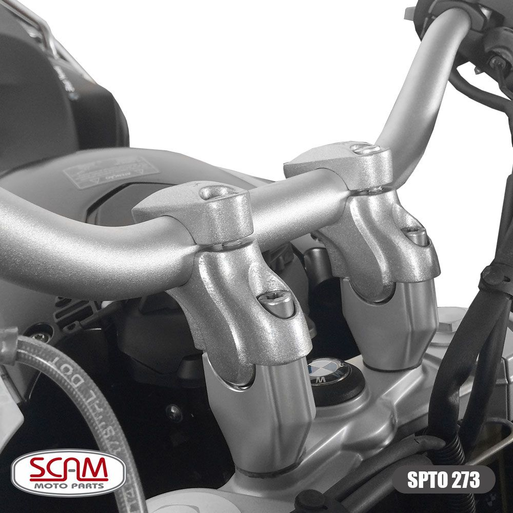 Riser / Adaptador Para Guidão Scam 28mm Ø - Universal
