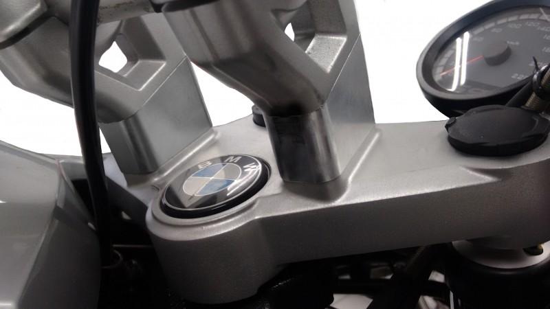 Riser / Adaptador para Guidão Anker Modelo Recuado Prata - R 1200 GS 2008 até 2012 - BMW