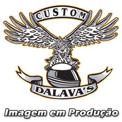 Sissy Bar / Encosto Traseiro Dalavas Modelo Easy Rider Destac. com Bagageiro - Dyna Super Glide - Harley Davidson
