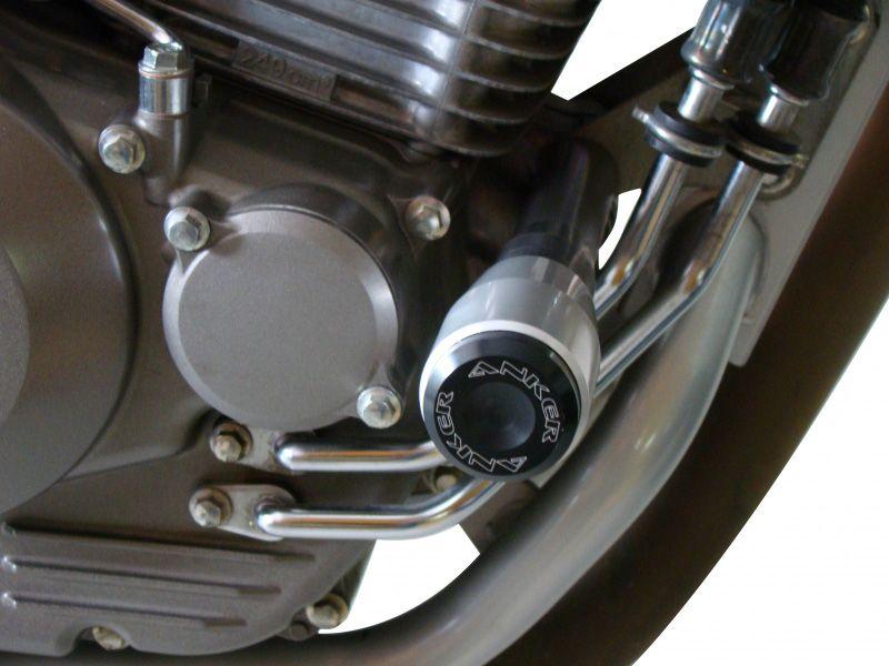 Slider Dianteiro Anker Anodizado - CB 300 R / CBX 250 Twister 01/08 - Honda