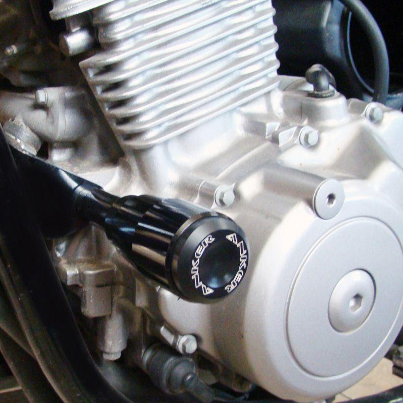 Slider Dianteiro Anker Anodizado - CB 500 até 2005 - Honda