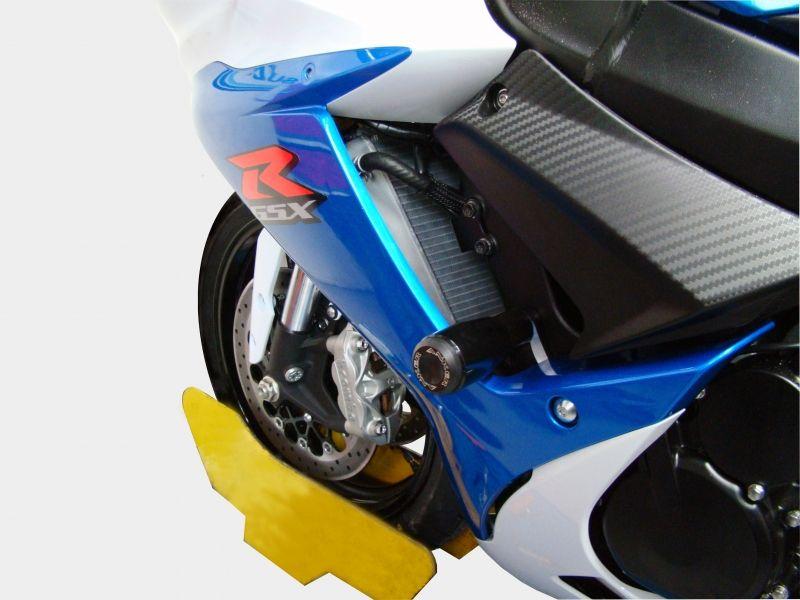 Slider Dianteiro Anker Anodizado - Srad GSX-R 750 ano 2014 em Diante - Suzuki