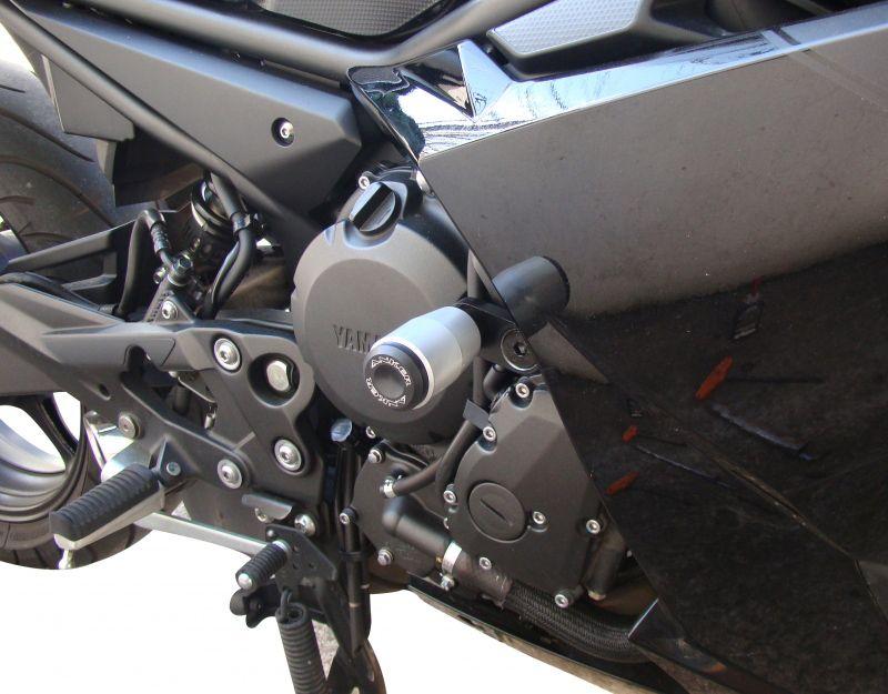Slider Dianteiro Anker Anodizado - XJ6 F ano 2010 em Diante - Yamaha
