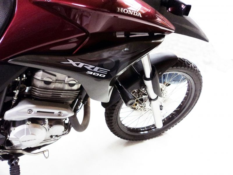 Slider Dianteiro Anker Anodizado - XRE 300 até 2012 - Honda