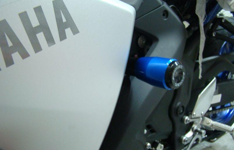 Slider Dianteiro Anker Anodizado - YZF R3 - Yamaha