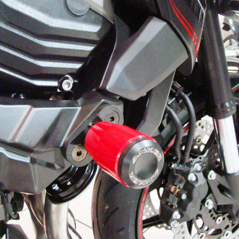 Slider Dianteiro Anker Anodizado - Z-800 - Kawasaki