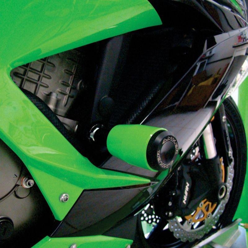 Slider Dianteiro Anker Anodizado - ZX 6R / 636 ano 2013 até 2015 - Kawasaki