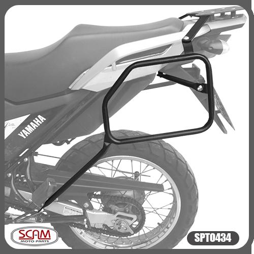 Suporte / Afastador Alforge Lateral Scam em Tubo - Crosser XTZ 150 - Yamaha