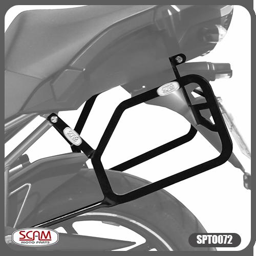 Suporte / Afastador Alforge Lateral Scam - Versys 1000 até 2014 - Kawasaki