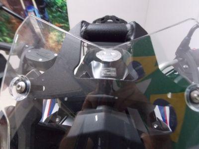 Suporte / Alça Preta Modelo Chapam Para GPS - F 750 / 850 GS - BMW