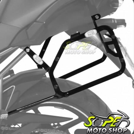 Suporte Bauletos Laterais Scam - Versys 1000 até 2014 - Kawasaki