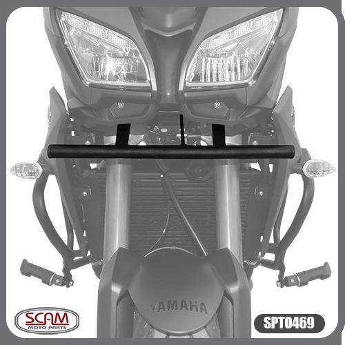 Suporte de Farol Auxiliar Modelo Scam Preto - Tracer 900 GT ano 2020 em Diante - Yamaha