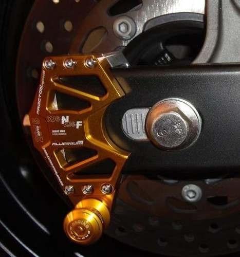 Suporte Dourado + Micro Slider Traseiro / de Balança Procton - XJ6 N / F - Yamaha