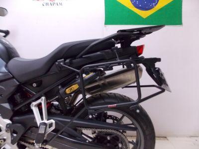 Suporte Lateral Chapam Preto para Side Case Givi - F 750 / 850 GS - BMW