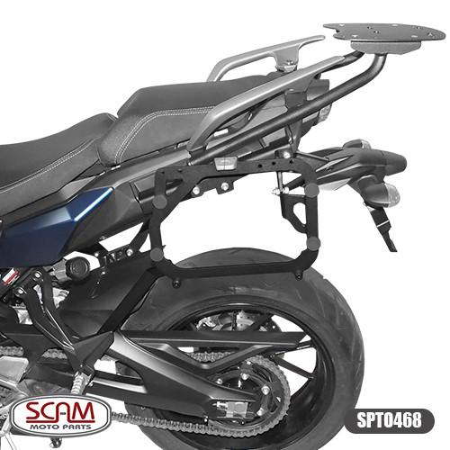 Suporte para Bau / Bauletos Lateral Scam - Tracer 900 GT ano 2020 em Diante - Yamaha