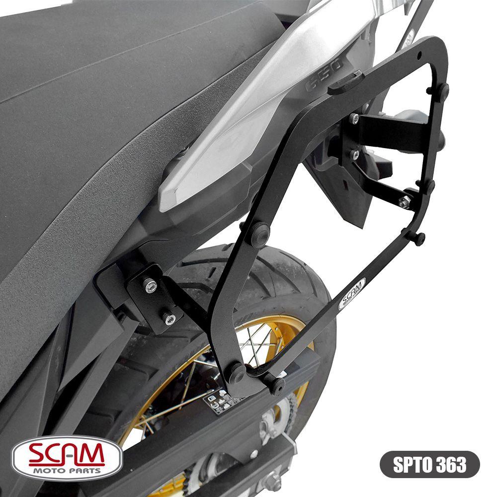 Suporte para Bau / Bauletos Lateral Scam - V-Strom DL 650 ano 2019 em Diante - Suzuki