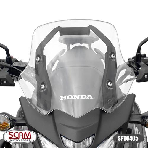 Suporte para GPS Scam Preto - CB 500 X até 2015 - Honda