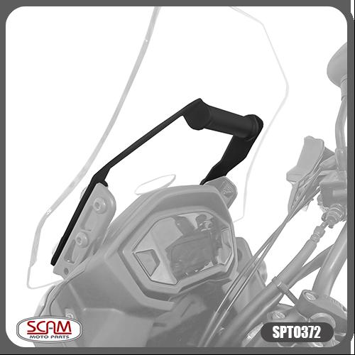 Suporte para GPS Scam Preto - CB 500 X 2016 em diante - Honda