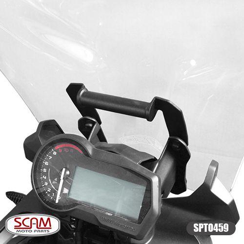 Suporte para GPS Scam Preto - F 750 GS - BMW