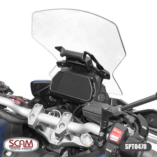 Suporte para GPS Scam Preto - Tracer 900 GT ano 2020 em Diante - Yamaha