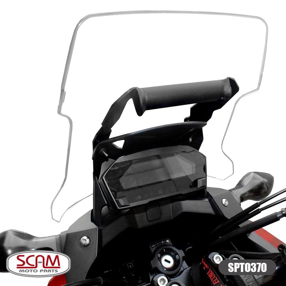 Suporte para GPS Scam Preto - NC 750 ano 2016 em Diante - Honda