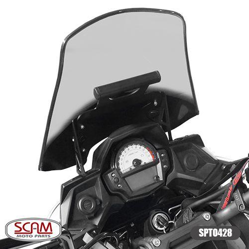 Suporte para GPS Scam Preto - Versys 650 Tourer ano 2015 em Diante - Kawasaki