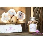 Difusor de Ambiente com Varetas - Aroma: Algodão - FlowerField