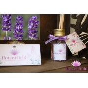 Difusor de Ambiente com Varetas - Aroma: Lavanda Francesa - FlowerField