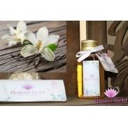 Difusor de Ambiente com Varetas - Aroma: Vanilla H Gold - FlowerField