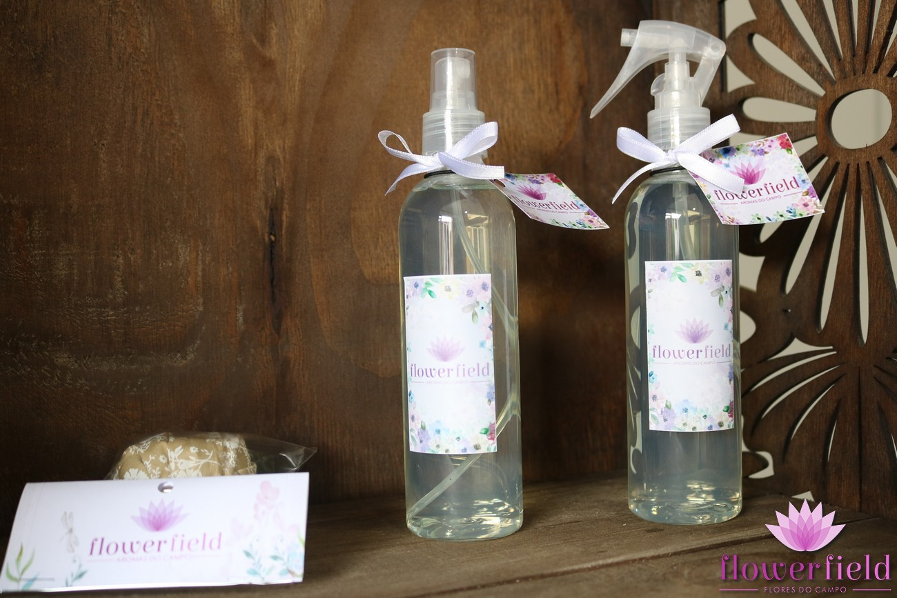 Água Perfumada para Borrifar - Aroma: Bamboo Dreams - FlowerField