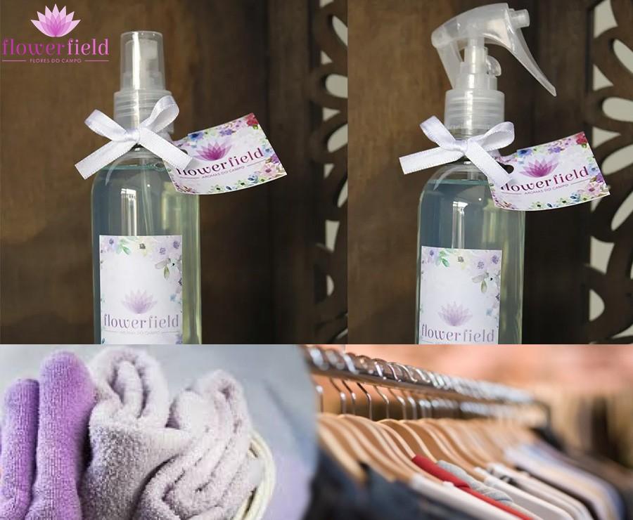 Água Perfumada para Borrifar - Aroma: Confort Home - FlowerField