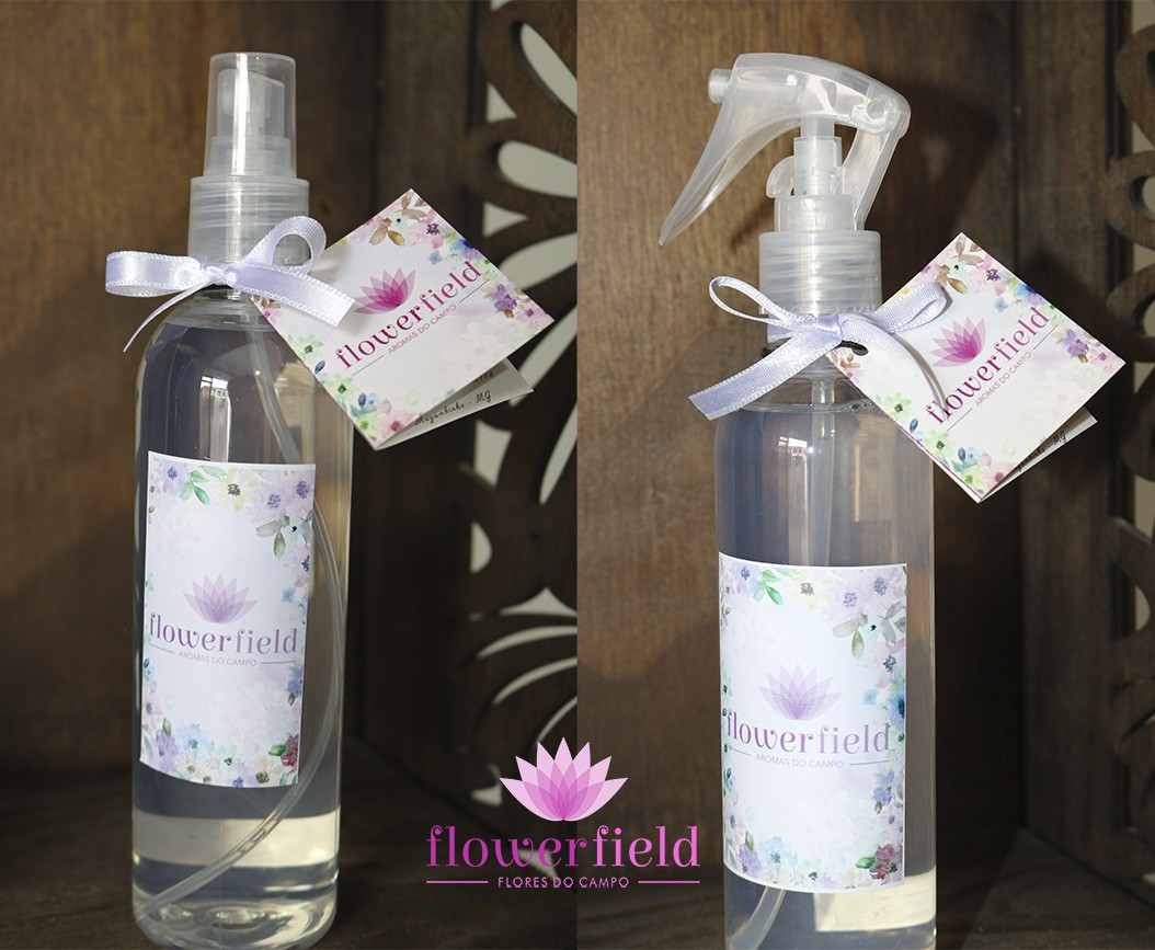 Água Perfumada para Borrifar - Aroma: Flor de Lotus - FlowerField