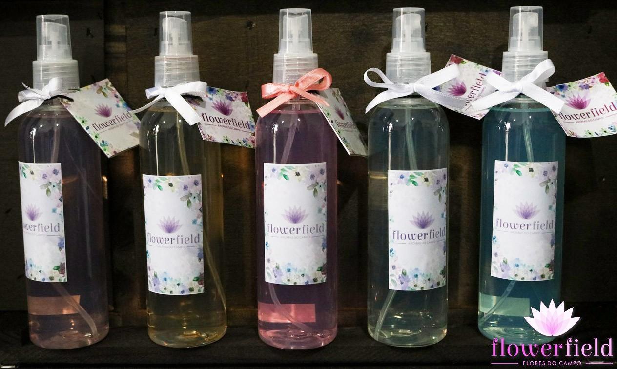 Água Perfumada Spray 250ml para Borrifar - Diversos Aromas FlowerField
